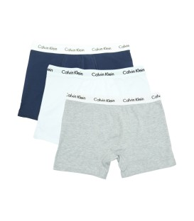 Calvin Klein Boxer Trunks (3 Pack) white&grey&navy