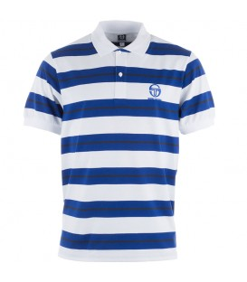 Sergio Tacchini Ealing Optic White /Surf the Web Polo short sleeve