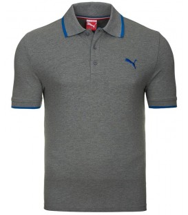 Puma FUN Pigue Polo Grey Heather 83221703