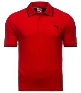 Puma Fun Pigue Polo short sleeve Red 83221705