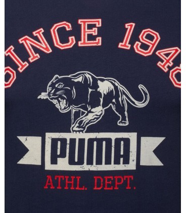 Puma STYLE ATHL TEE PEACOAT 83224906