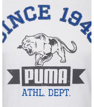 Puma STYLE ATHL TEE WHITE
