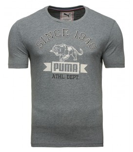 Puma tshirt short sleeve Tee Medium Grey