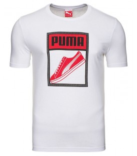 Puma TONGUE LABEL TEE WHITE 83242402