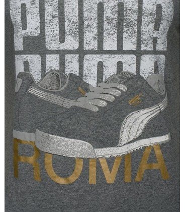 Puma SNEAKER TEE MEDIUM GRAY 56826403