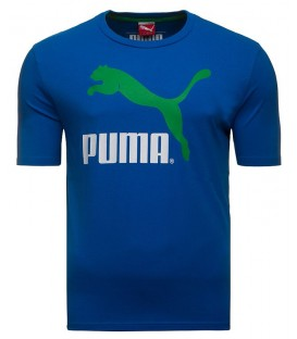 Puma HERLTAGE NO1 LOGO TEE STRONG BLUE 56855411