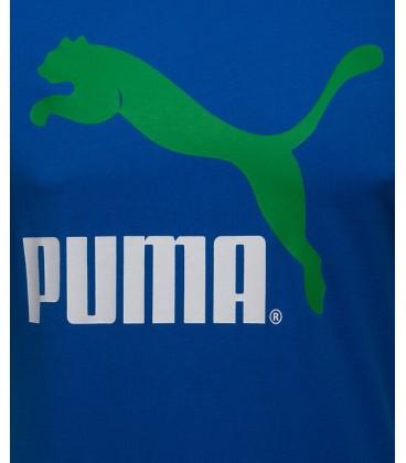 Puma HERLTAGE NO1 LOGO TEE STRONG BLUE 56855411