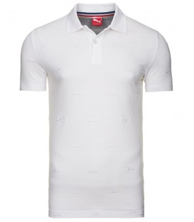 Puma TENNIS POLO WHITE 56829802